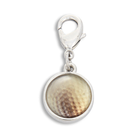 Charm featuring Golf Ball