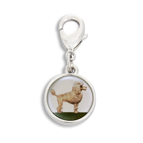 Charm featuring Painted Poodle