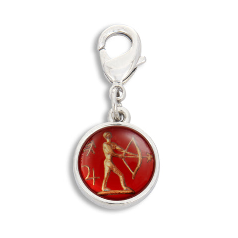 Charm featuring Vintage Astrology Sign Sagittarius