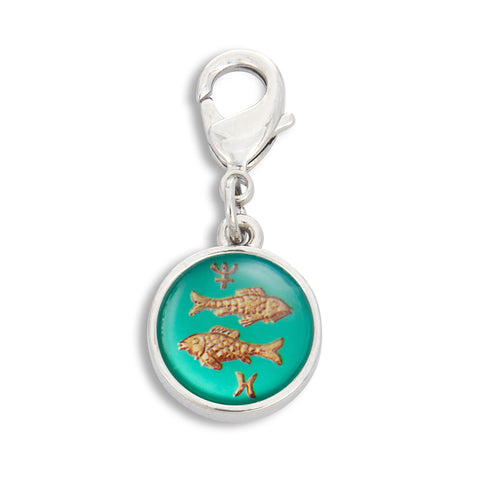 Charm featuring Vintage Astrology Sign Picses