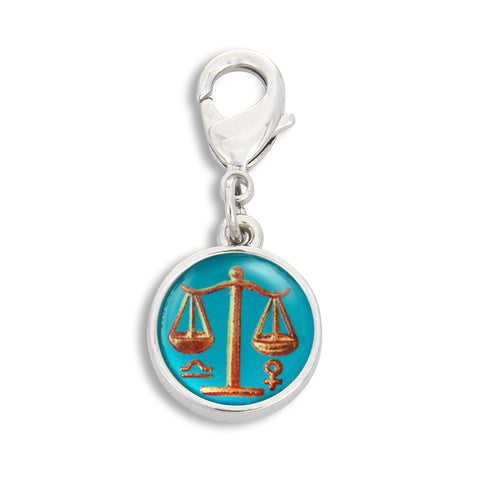 Charm featuring Vintage Astrology Sign Libra