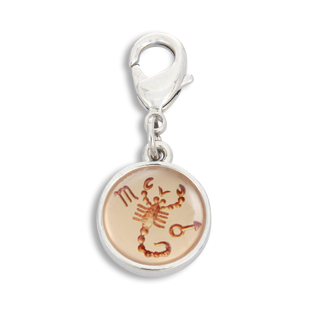 Charm featuring Vintage Astrology Sign Scorpio