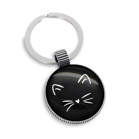 Crazy Cat Lady Keychain - Made in USA
