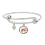 Female Empowerment Girl Power Bangle Bracelet | Handcrafted USA
