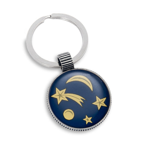 Keyring featuring Shooting Stars