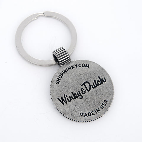 Keyring featuring Our Classic Smoking Cigar