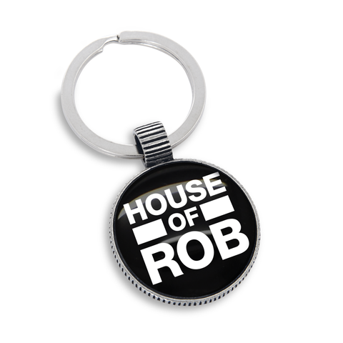House of Rob Key Fob and Ring