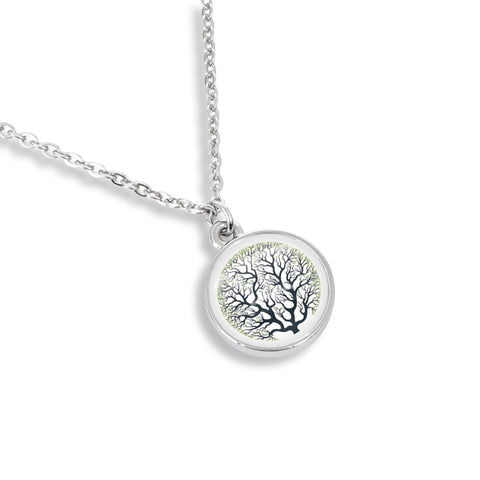 Tree of Life Charm Necklace - Handcrafted in USA