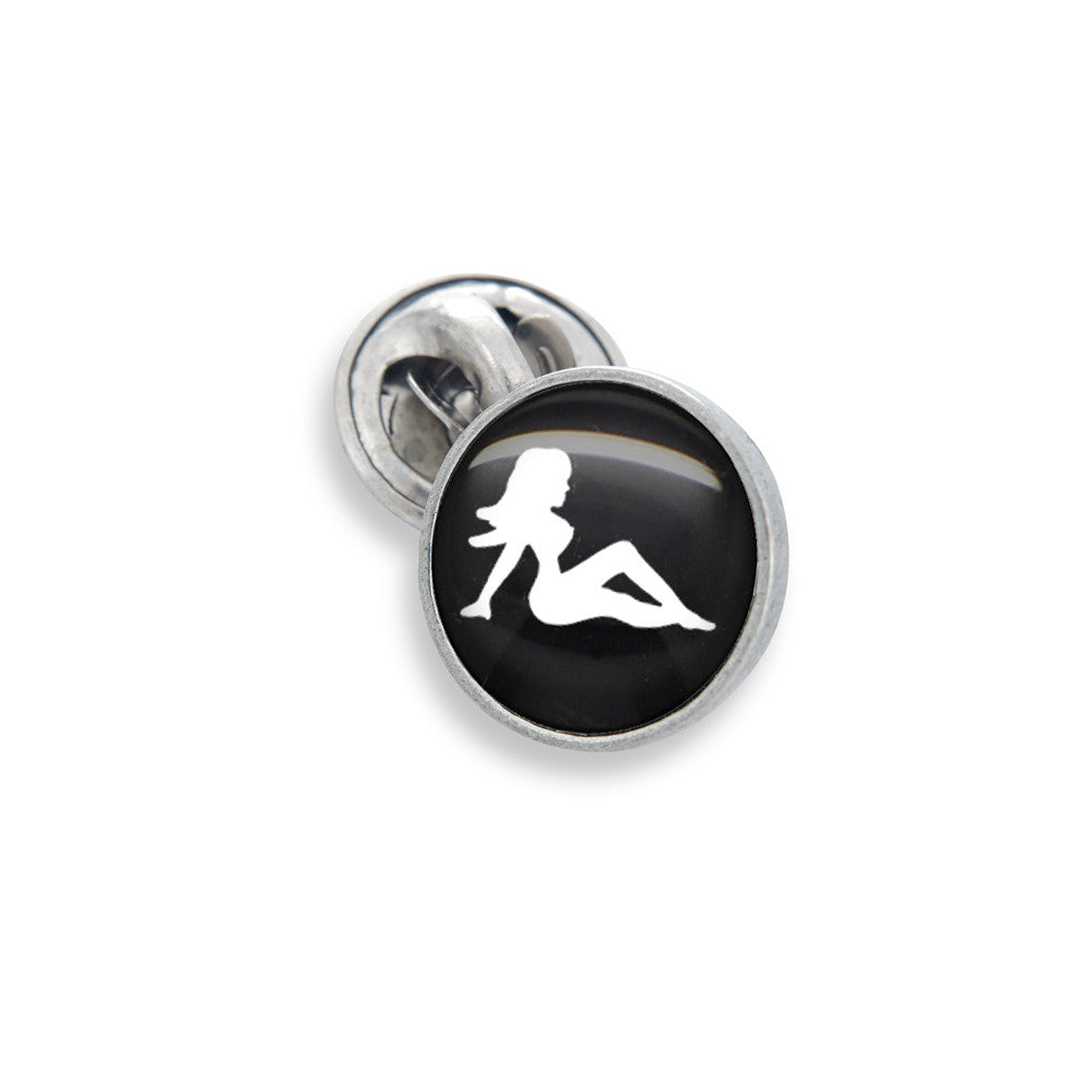 Lapel Pin In 13mm Featuring Classic Mudflap...