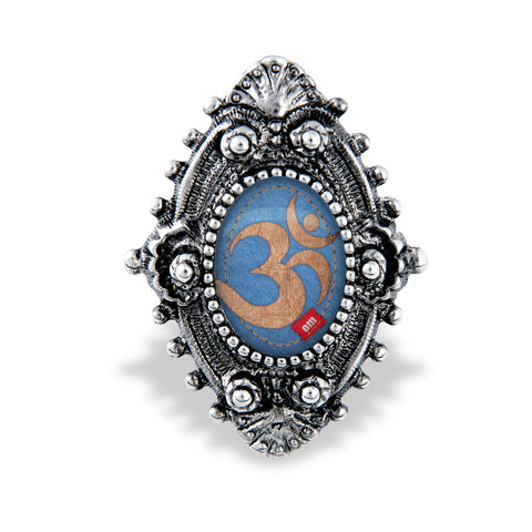 Om Filigree Ring- Handcrafted USA