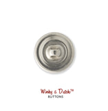 Machine Washable Thick Thread Design Sew On Button | Handcrafted USA