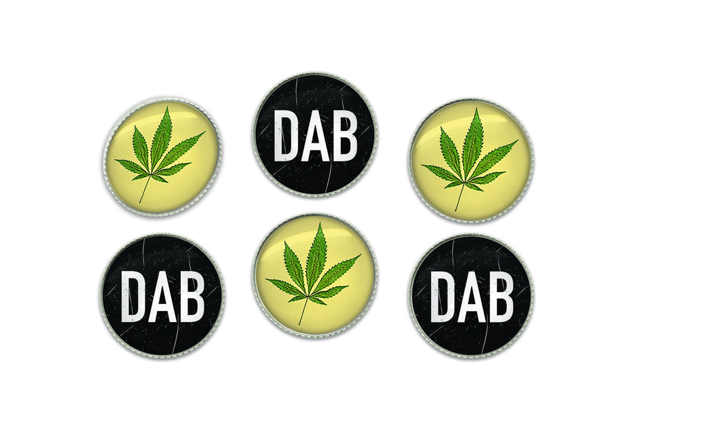 Cannabis and Dab Buttons | Handcrafted USA