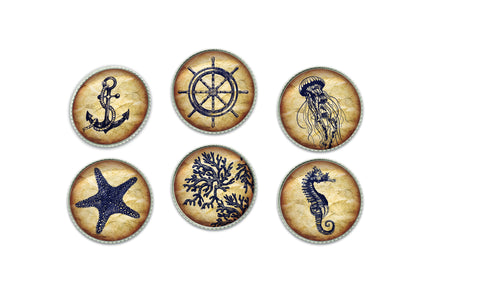 Nautical Buttons | Handcrafted USA