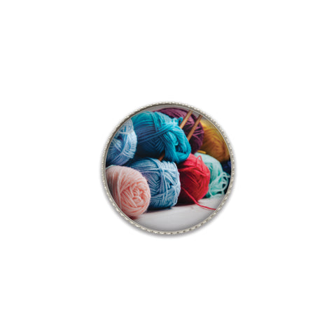Machine Washable Yarn Collection Sew On Button | Handcrafted USA