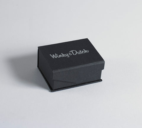 Custom 13mm Cufflink Set from the Winky&Dutch Artwork Collection