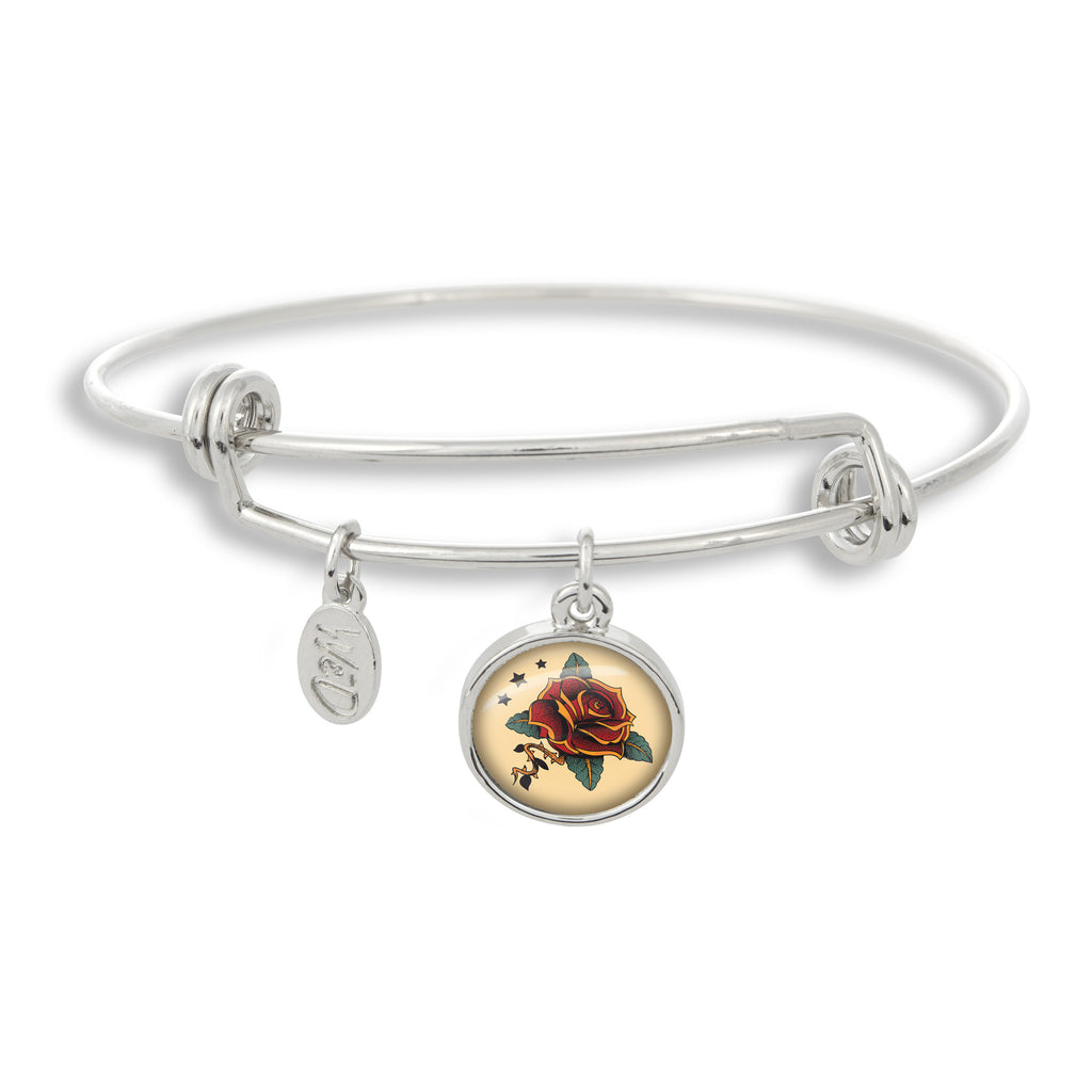 Tattoo You Adjustable Bangle Bracelet
