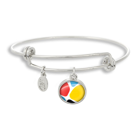 Zoolander CMYK Giraffe Adjustable Bangle Bracelet