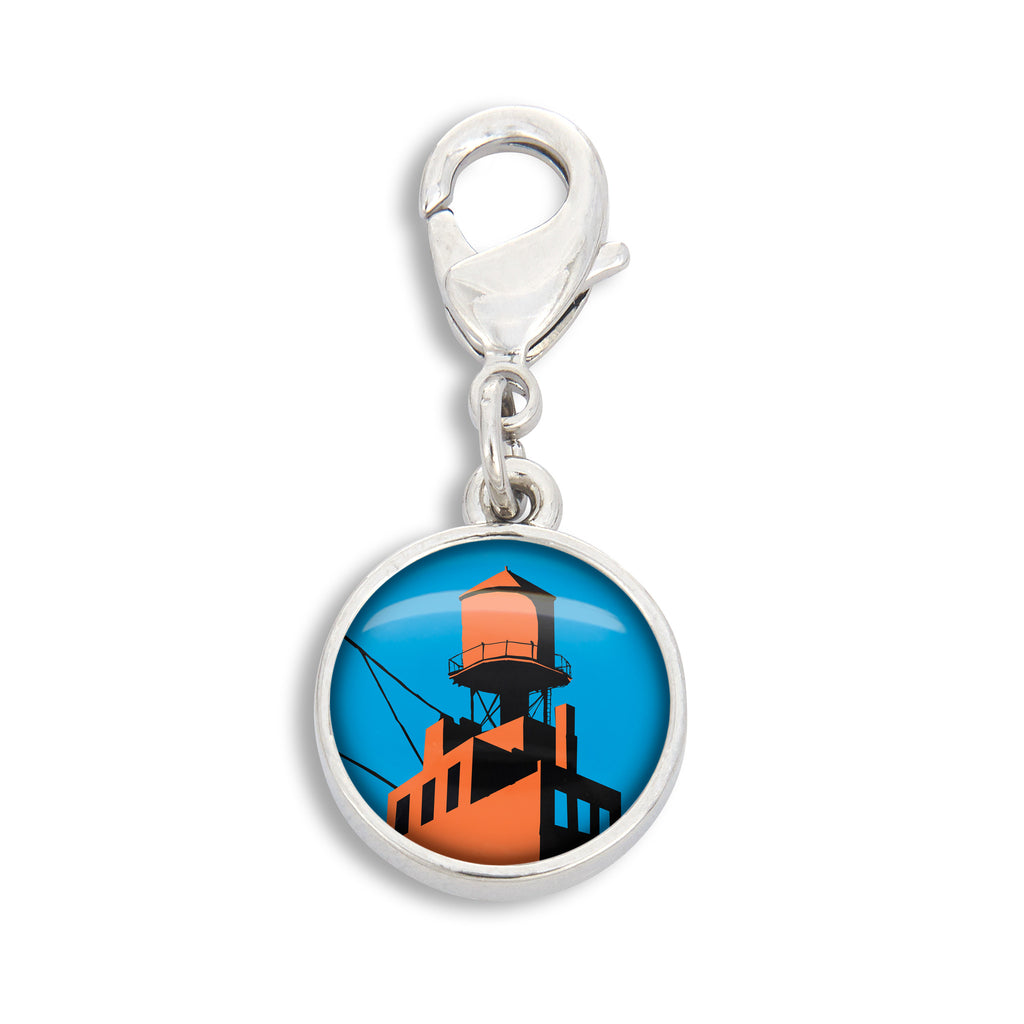 Water Tower Charm