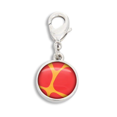 Zoolander Orange Giraffe Charm