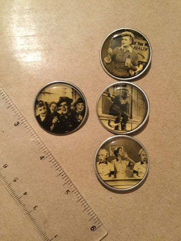 Winky&Dutch Original Vintage I Love Lucy 30mm Pin Collection