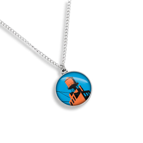Futurama New York Medallion Necklace