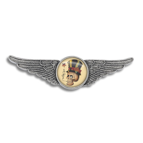 Tattoo You Aviator Wing Pin