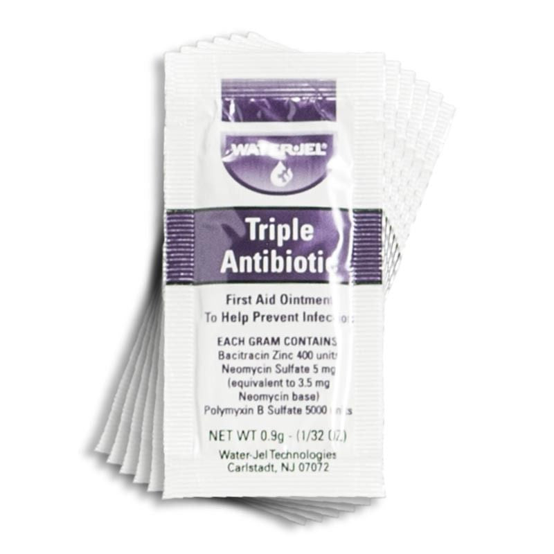 WaterJel Triple Antibiotic Ointment, 0.9 g
