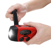 Load image into Gallery viewer, Emergency Hand Crank Radio