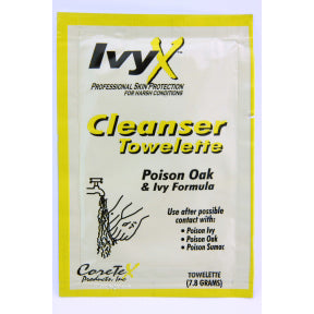 IvyX Cleanser Towelette (Post-Contact)