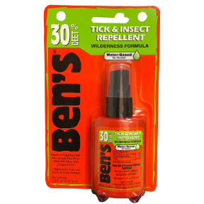 Ben's® 30 Deet Tick & Insect Repellent Spray