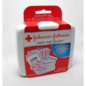 Johnson & Johnson First Aid to Go® Kit