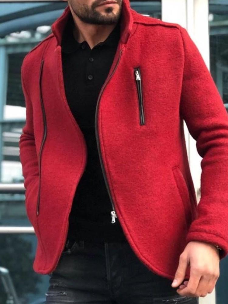 Cardigan Thick Pocket Loose Zipper Hoodies