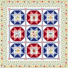 Fruit stand quilt pattern