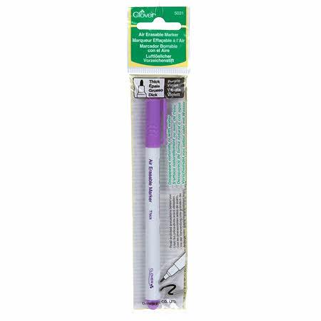 Air Erasable Marker Thick Purple
