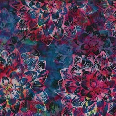 Bali Batik - Dream Big Fucshia