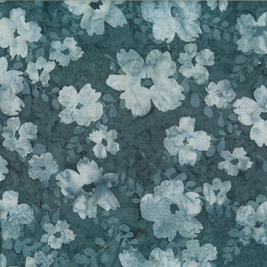 Bali Batiks - Flower December