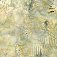 Batik - Large Leaves Desert