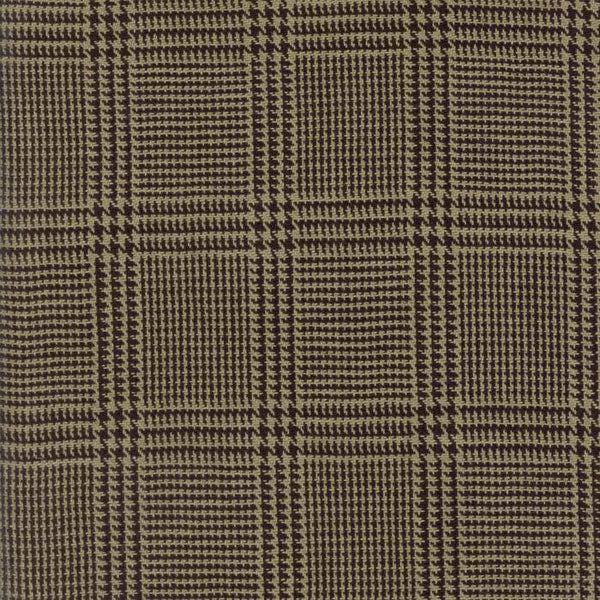 Cottonworks-tan plaid