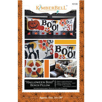 Halloween Boo! Bench Pillow-Sewing Version