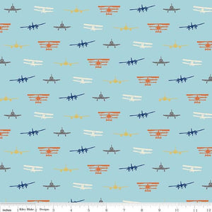 Jersey Knit-Airplanes