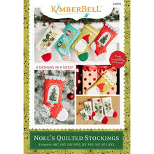 Load image into Gallery viewer, Noel's Quilted Stockings