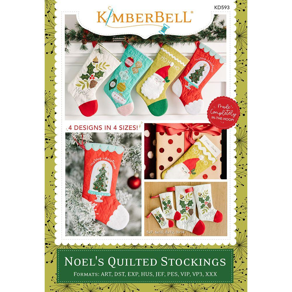 Noel's Quilted Stockings