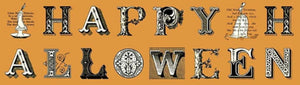 Sew Scary-Light Pumpkin Words