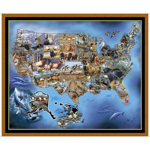 United States Animal Map