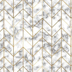Watercolor Sketchbook-Marble with Gold Diagonal Grid
