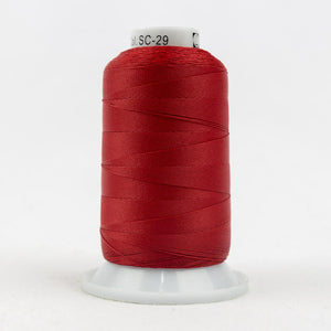 Silco Thread-SC29, Holiday Red