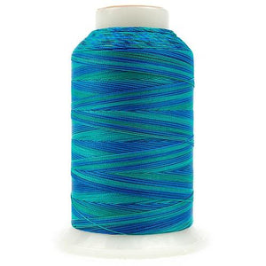 Silco Variegated-SCM16, Blues/Greens