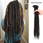 17Color 5Strands/pk SE Dreadlocks Extension Handmade Synthetic