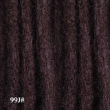 5strands/pack 20inch Handmade Synthetic Single Ended Dreadlock Extensions