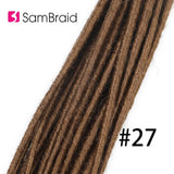 5/10strands packs 20inch Double Ended Dreadlock extensions synthetic